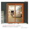 Good price tempered glass semi-automatic sliding glass doorsv
