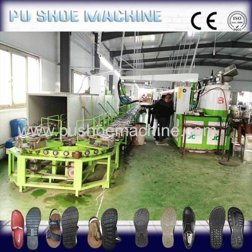 full automatic new boots shoes pouring machine