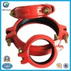 Grooved Pipe Fittings And Rigid Hose Coupling Clamp