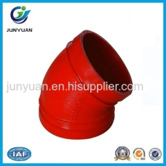 Ductile Iron 45 Degree Elbow Pipe Fitting