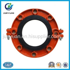 Ductile Iron Grooved Fittings Grooved Flange Coupling