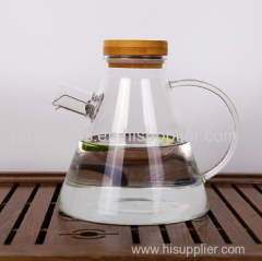 Heat resistant glass water jugs glass teapots flower teapot juice jugs can boil water