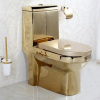 bathroom ceramic gold-plated modern toliets