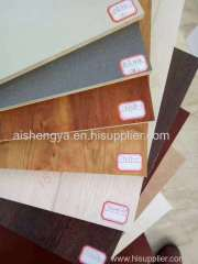 5-25mm thick Melamine MDF for home fitment and construction