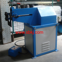 sheet metal round tube flanging machine