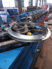 Round Flange Forming Machine HVAC Duct