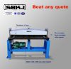 duct making steel plate grooving machine