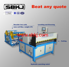 rectangular duct forming machine manufacturer