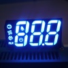 Ultra Blue Common Anode Custom Triple digit 7 segment led display for Refrigerator Control
