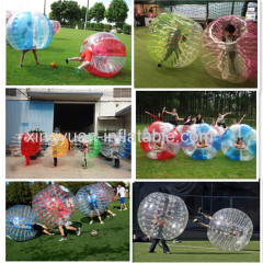 Hot Sale PVC/TPU Human Inflatable Bubble Soccer Ball