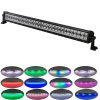 "180w 32"" straight OffRoad Lights LED Light Bar RGB Chasing for Fog Driving"