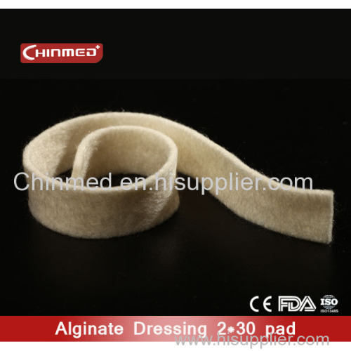 Clinic Sterile Moist Wound Dressings Disposable Tegaderm Calcium Alginate Dressing