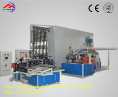 High speed safe and reliable paper cone production line