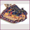 Factory Direct Designer Fashion Women Silk Scarves Customized Digital Printing