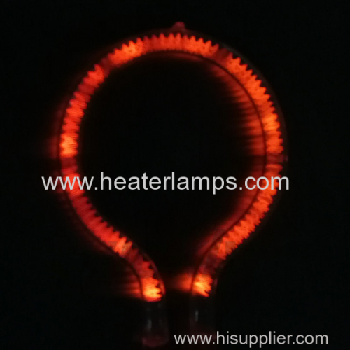 infrared radiant quartz tube heaters