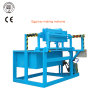 Semi-automatic easy install small paper egg tray making machine