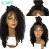 Unprocessed Loose Curly Full Lace Human Hair Wigs Glueless Virgin Brazilian Full Lace Wig Curly Lace Front Wigs Women