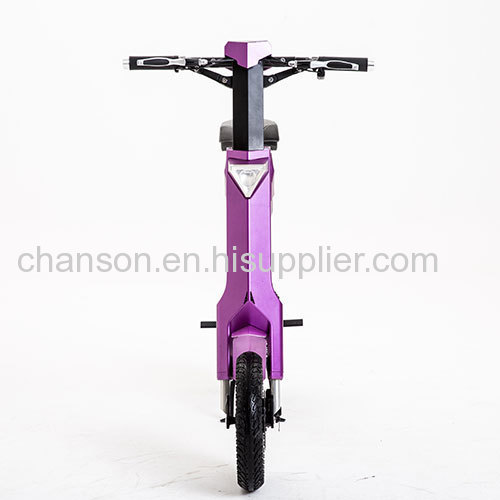Frirst Smart Automatic Folding Electric Scooter AK-1 Purple