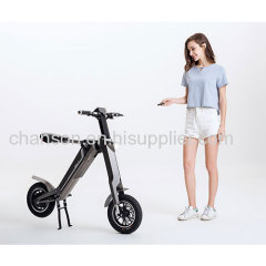 First Smart Automatic Folding moped