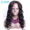 Full Lace Body Wave Wigs Virgin Unprocessed Lace Front Wigs Indian Virgin Hair Body Wave Wig
