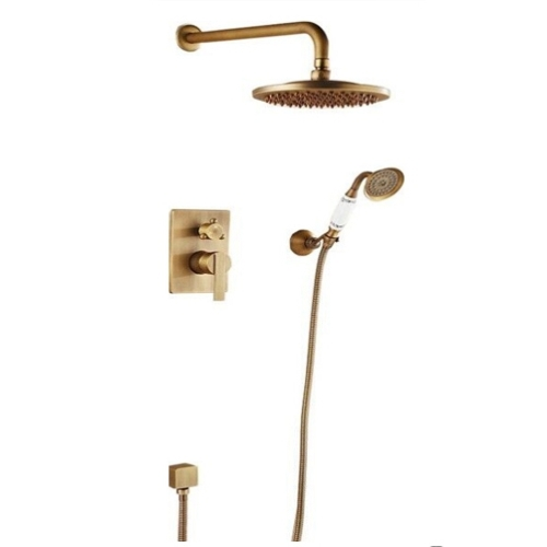 Fine appearance rain shower set faucets bath faucet mixer bathroom shower