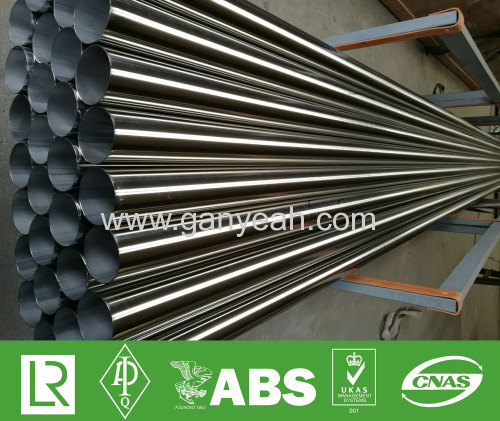 Polished pipe stainless steel welding