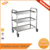 restaurant service trolley cart made in stainless steel Kunda