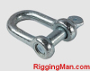 Rigging hardware D SHACKLE