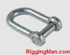 JIS TYPE SCREW PIN CHAIN SHACKLE WITH COUNTER SUNK HEAD Rigging