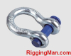 ROUND PIN CHAIN SHACKLE U.S rigging