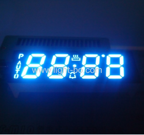 Ultra white common anode 4 digit 0.56  7segment led display for digital oven timer control