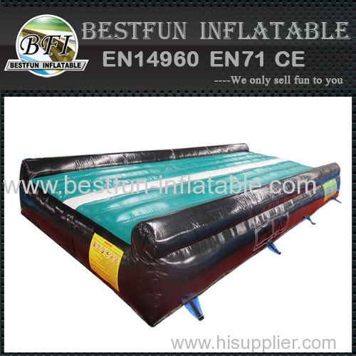 Inflatable gym air track mat