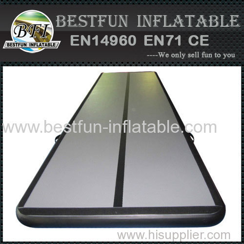 Customized Inflatable air tumble track gymnastics mattress