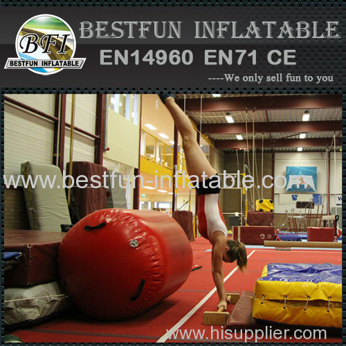 Air tumble track mattress
