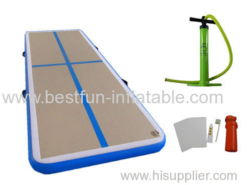 Gym Training Tumbling air floor for home