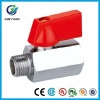 High Quality FXM Brass Mini Ball Valve With with ABS Handle