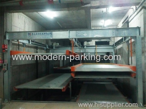 Intelligent pit type car parking systems