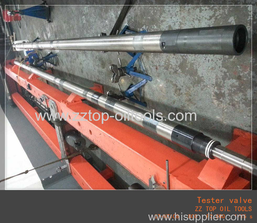 What is the function of downhole tester valve in DST operation
