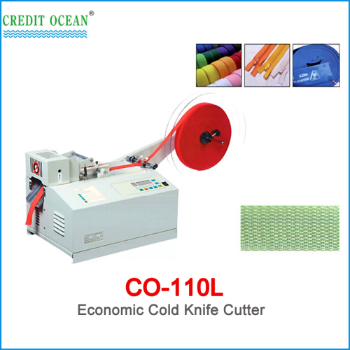 CREDIT OCEAN cold knife webbing cutting machine