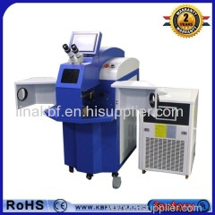 Automatic jewelry chain making machine/ laser spot welding machinefor sale
