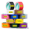 colorful China best price sellotape cinta adhesive cloth duct tape