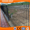 PVC coated welded curvy mesh fence panels for boundary wall