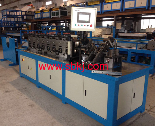 Angle Steel flange forming machine