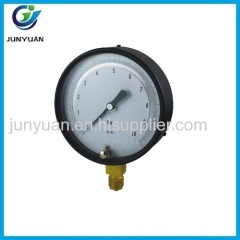 Test gauge copper alloy wetted parts