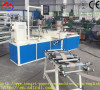 Semi-automatic spiral paper tube production line for various tapers