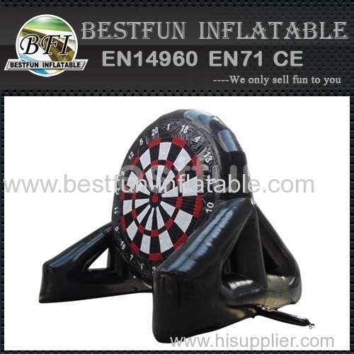Inflatable foot dart board stands