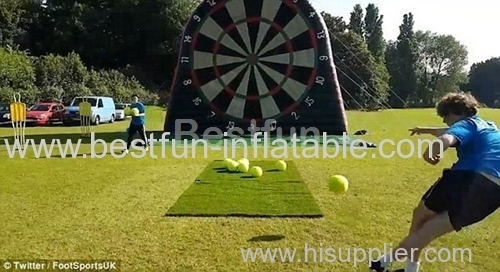 Giant football dart game