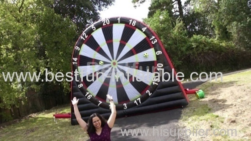 Inflatable Footdart Supplier Classic Outdoor Soccer Shooting on Dart Board Games