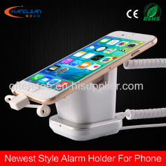 smart phone secure alarm stand for retail shop