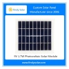 Photovoltaic Solar Panel 9V 1.7W Poly